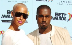 Amber Rose and Kanye West9th Annual