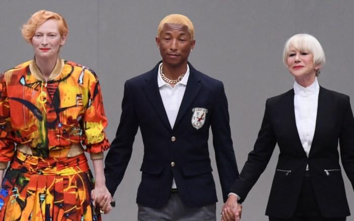 Pharrell Williams, tilda swinton, Karl For Ever memorial, helen mirren,