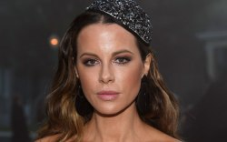 Kate Beckinsale, front row, moschino spring