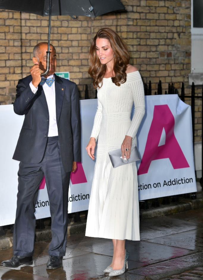 kate middleton, jimmy choo romy heels, Barbara Casasola dress