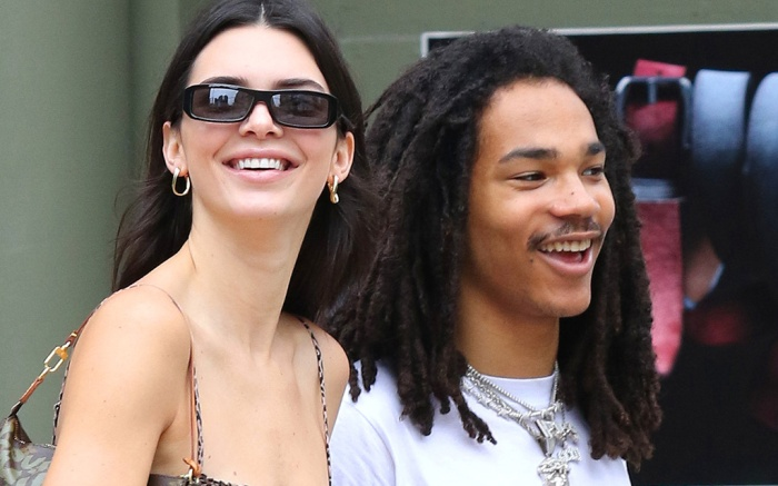 Kendall Jenner Shopping With Friend Luka Sabbat In New York City