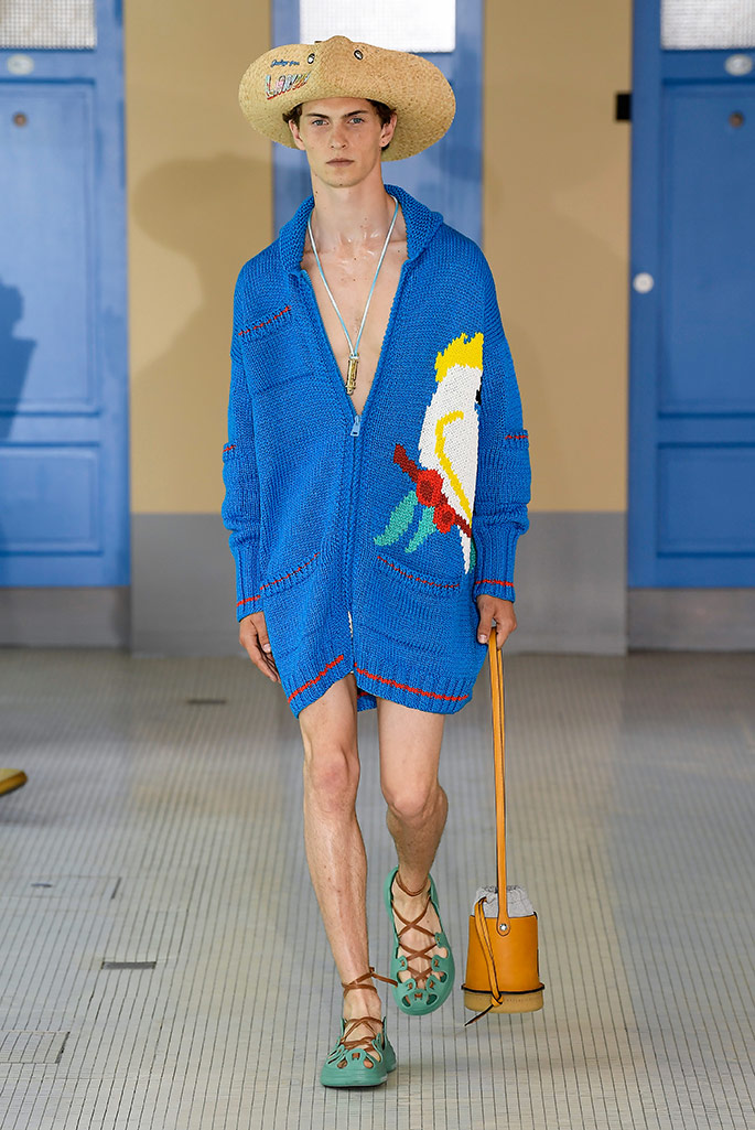 Lanvin spring 2020, Paris Fashion Week, Men's.
