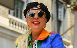 Lady Gaga, versace, Z100 Pride Live