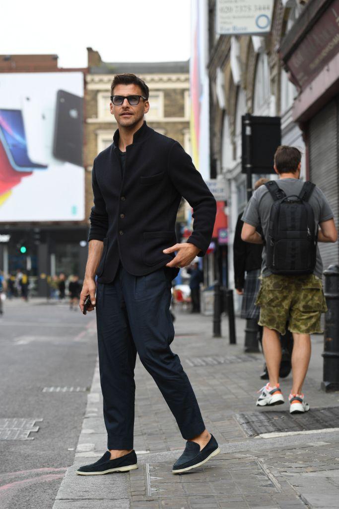 Johannes Huebl, london fashion week men's, Spring Summer 2020