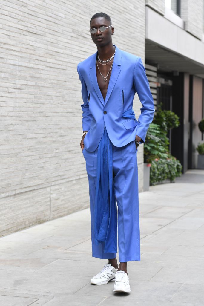 london fashion week men's, street style