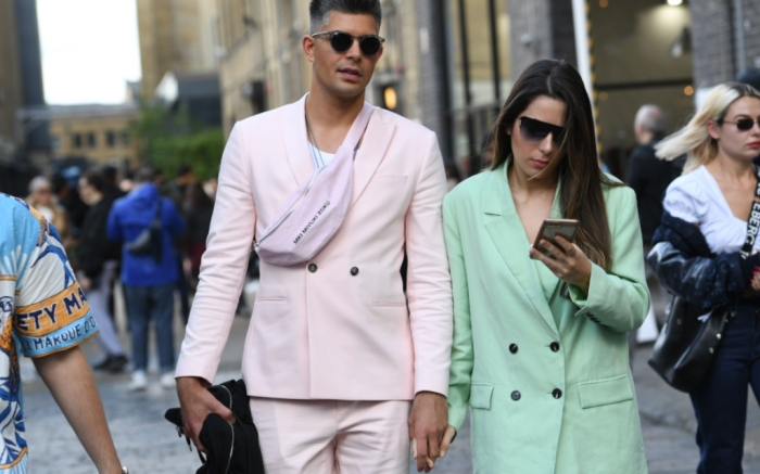 london fashion week men's 2019, street style