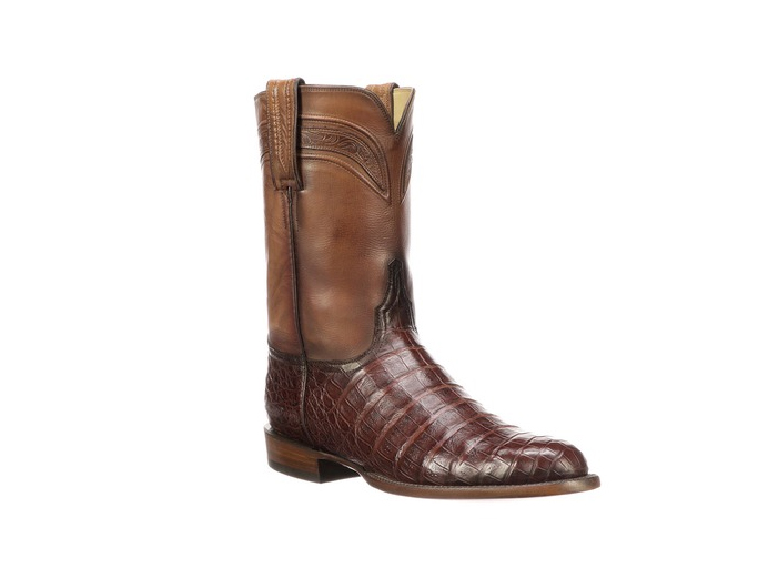 Lucchese Men's Wilson boots, tan, made in america