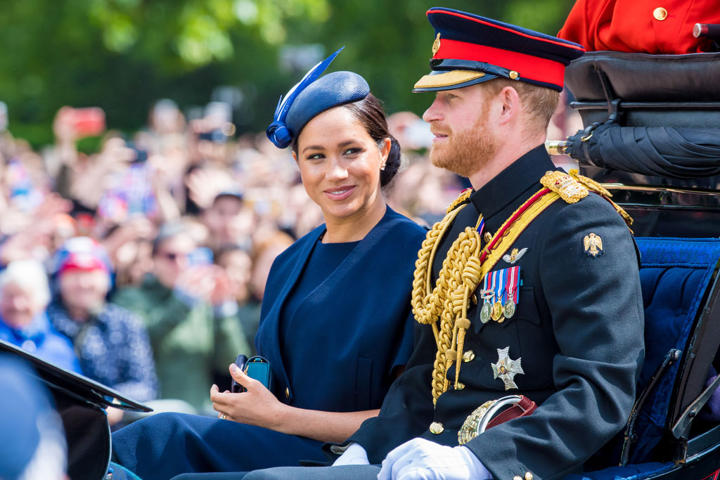 Meghan Markle, Clare Waight Keller, celebrity style, trooping the colour 2019 parade