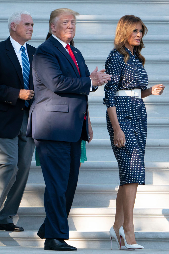 Congressional Picnic, melania trump, donald trump, mike pence