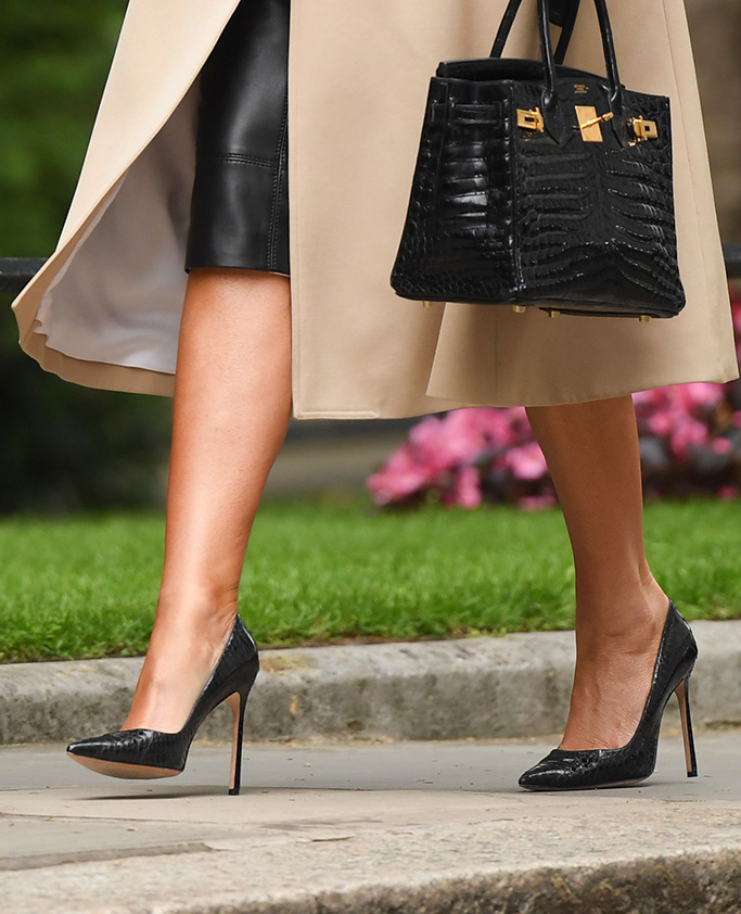 US President Donald Trump and First Lady Melania Trump at No.10 Downing StreetUS President Donald Trump state visit to London, UK - 04 Jun 2019