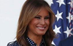 Melania Trump, celebrity style, congressional picnic
