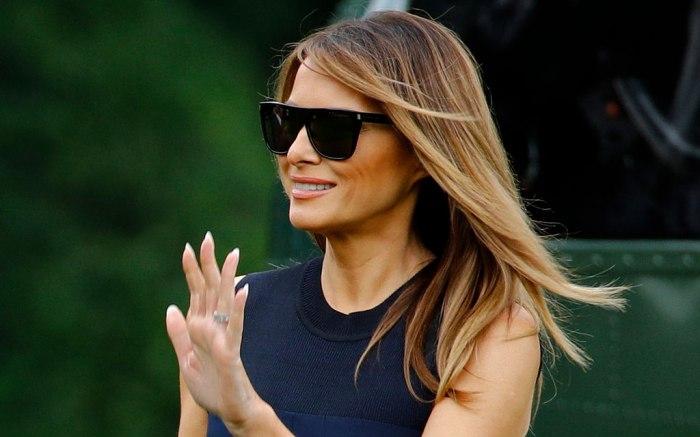 Melania Trump, white house, celebrity style, jun 7 2019
