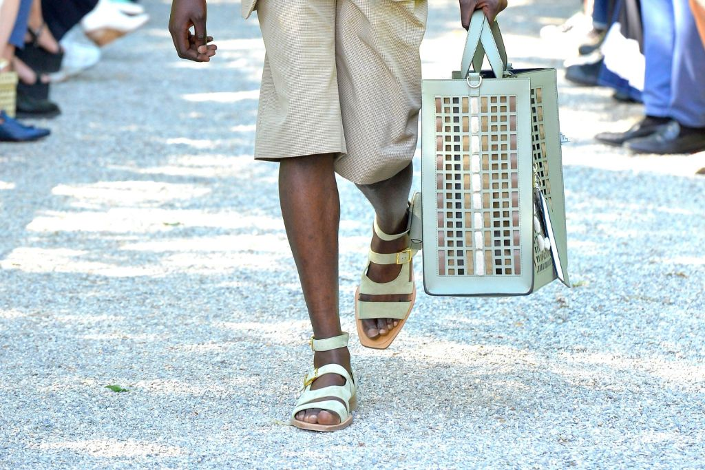 fendi, men's, spring 2020, top, 10, shoes, sandals