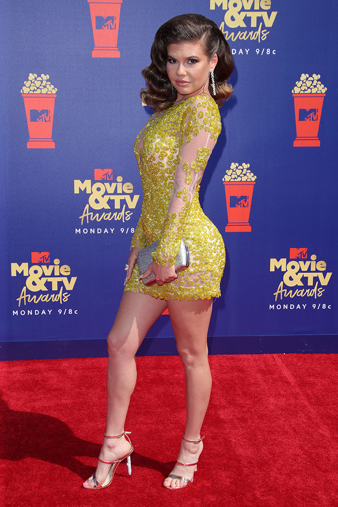 Chanel West CoastMTV Movie & TV Awards, Arrivals, Barker Hangar, Los Angeles, USA - 15 Jun 2019
