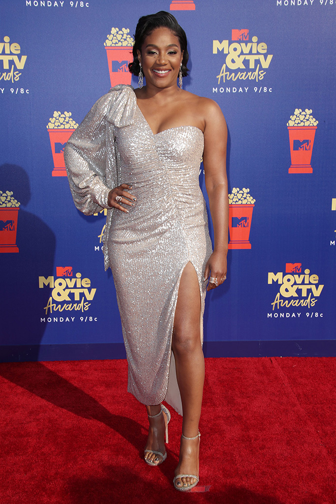 Tiffany HaddishMTV Movie & TV Awards, Arrivals, Barker Hangar, Los Angeles, USA - 15 Jun 2019