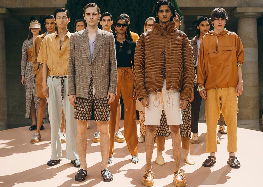 Nanushka spring 2020, Paris Fashion Week, Men's.
