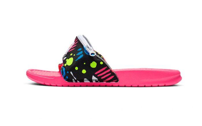 Nike Benassi JDI Fanny Pack Slides