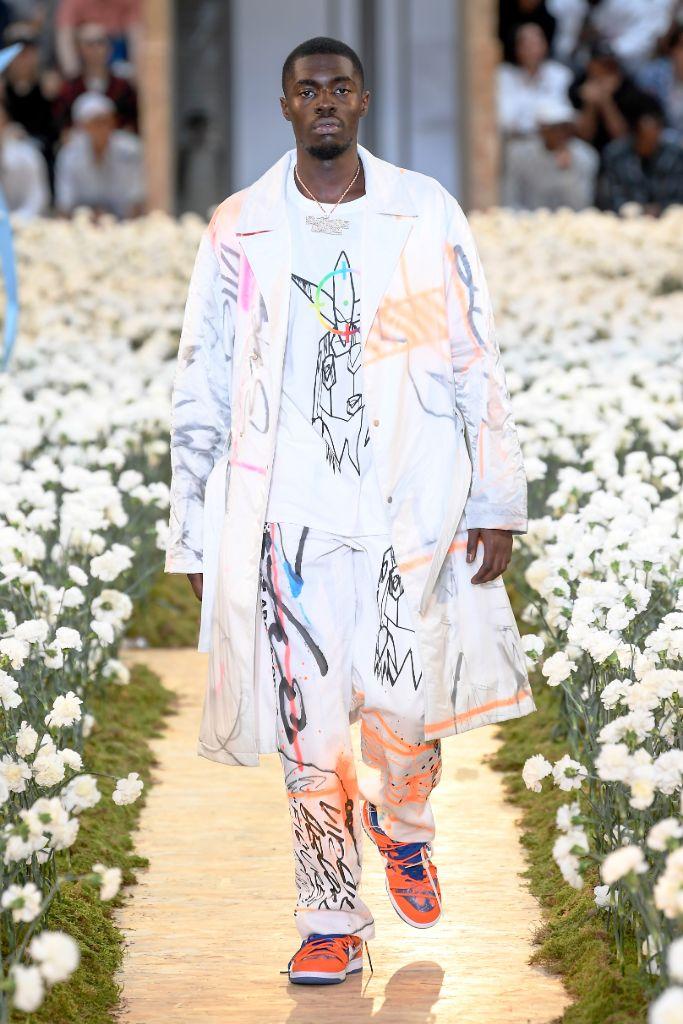 Off-White spring 2020, Paris Fashion Week, Men's.