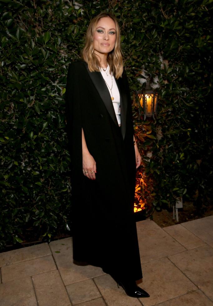 olivia wilde, 2019 Women in Film Max Mara Face of the Future party