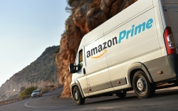 Amazon delivery truck