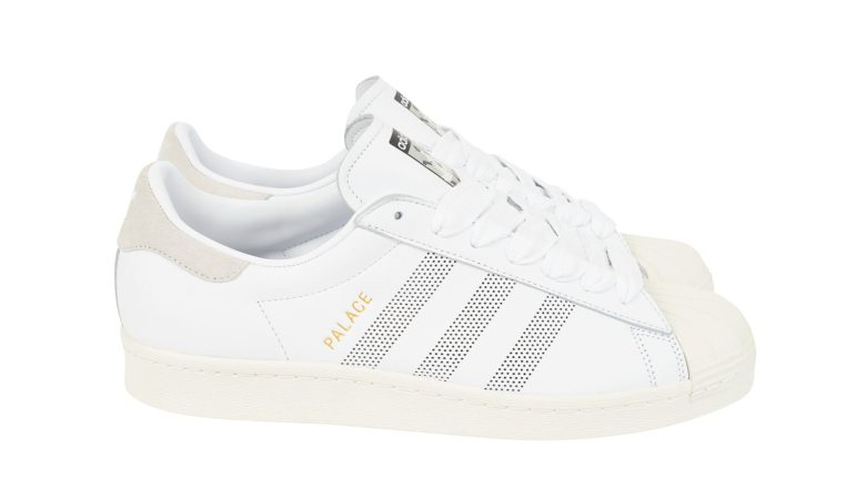 Palace x Adidas Superstar Spring/Summer 2019 White