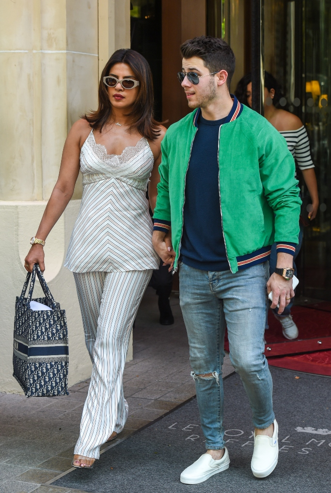 priyanka chopra and nick jonas street style