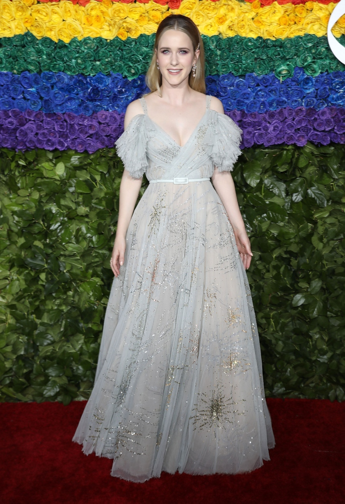 Rachel Brosnahan, dior couture spring 2019