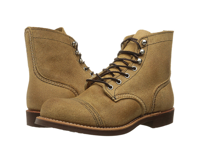 "Red Wing Heritage Men's 6"" Iron Ranger Lug boot, made in america"
