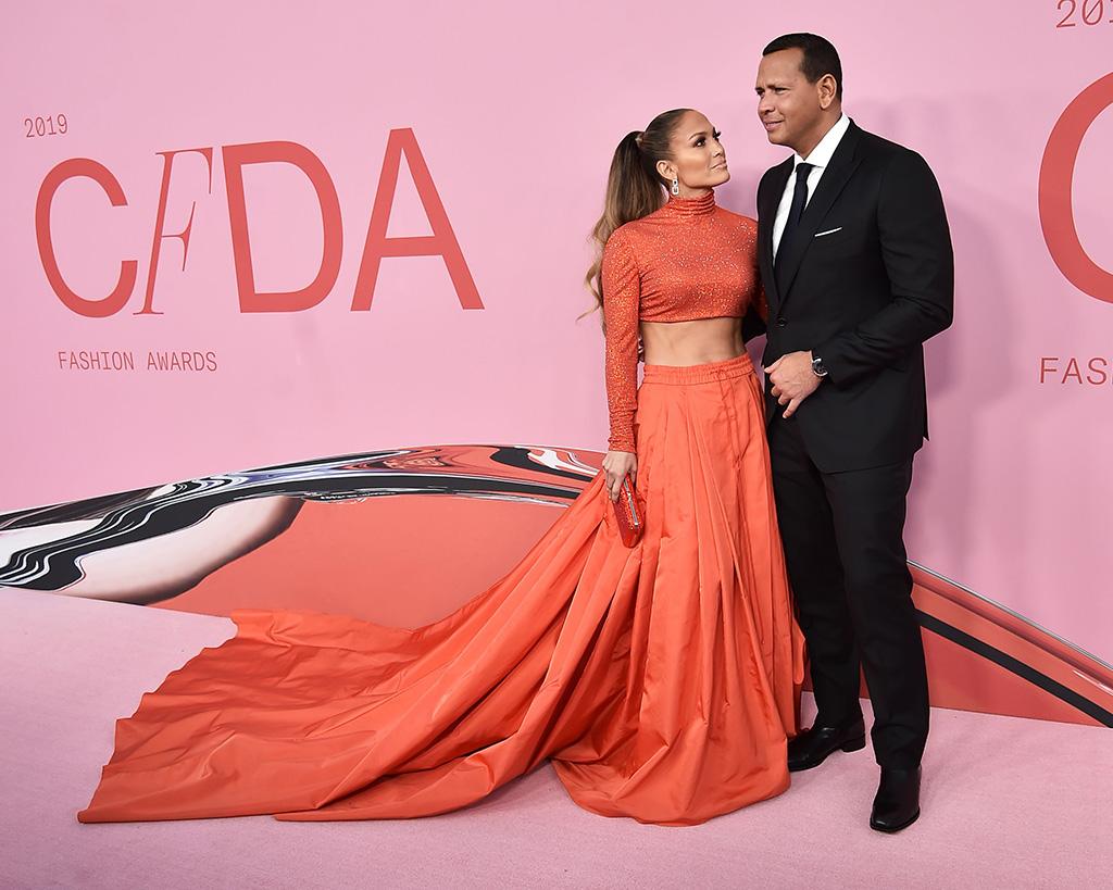 Jennifer Lopez and Alex RodriguezCFDA Fashion Awards, Arrivals, Brooklyn Museum, New York, USA - 03 Jun 2019
