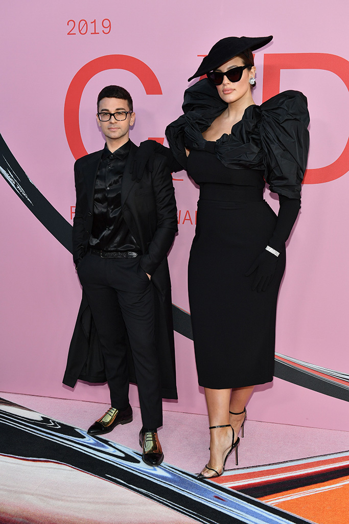 Ashley Graham and guestCFDA Fashion Awards, Arrivals, Brooklyn Museum, New York, USA - 03 Jun 2019