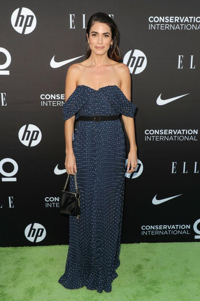 Nikki Reed, self-portrait jumpsuit, celebrity style, red carpet, Women In Conservation Event, Arrivals, Milk Studios, Los Angeles - 08 Jun 2019