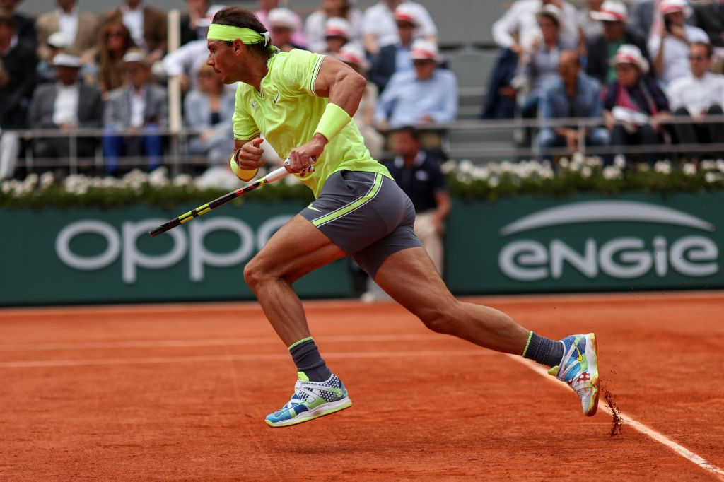 Rafael Nadal of Spain in action in the Men?s FinalFrench Open Tennis Championships, Day 15, Roland Garros, Paris, France - 09 June 2019