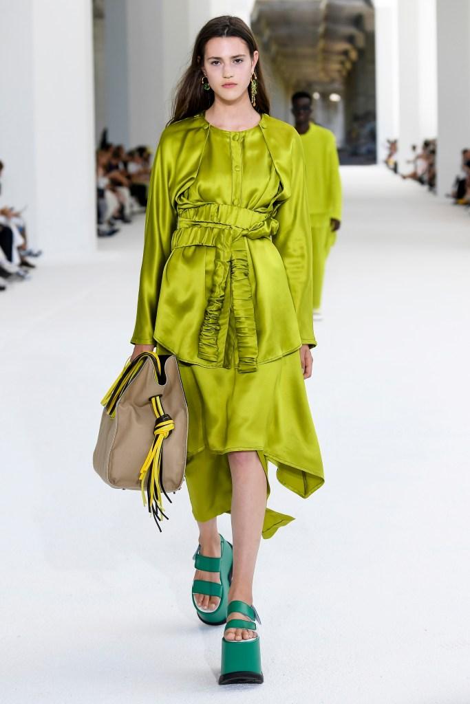 Model on the catwalkSunnei show, Runway, Spring Summer 2020, Milan Fashion Week Men's, Italy - 16 Jun 2019