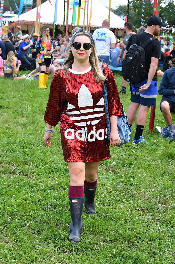 Festival Goer, Glastonbury Festival 2019 style, boots, fashion