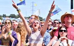 Glastonbury Festival Goers
