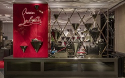 Store Entrance With Signage. Christian Louboutin