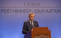 Bernard Arnault, Chairman and CEO of