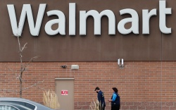 Thonton, Colo., Walmart. Employees head in