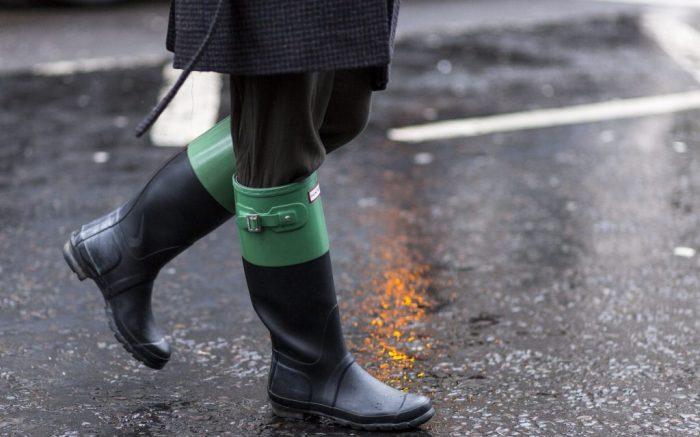 Street styleStreet Style, London Fashion Week, UK - 19 Feb 2018