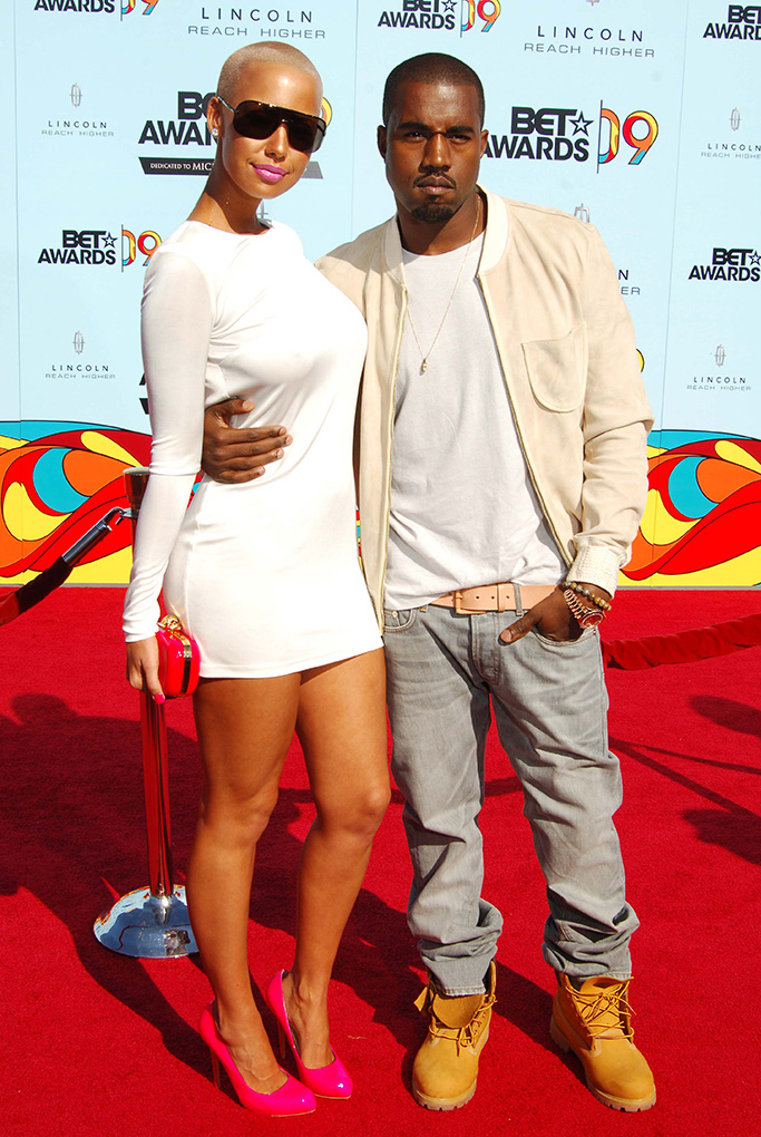 """Amber Rose and Kanye West9th Annual BET Awards, Arrivals, Los Angeles, America - 28 Jun 2009This year's annual Black Entertainment Television awards were changed at the last minute to become a tribute ceremony to honour the late singer Michael Jackson, who collapsed and died last week (Thurs 25th June).Members of the famous Jackson family led the tributes and there was even an appearance from his infamous father Joseph.A Jackson 5 medley was performed and host Jamie Foxx even tried his hand (or should that be feet?) at doing the Moonwalk before Janet Jackson held back the tears to give thanks to all her brother's friends and fans.Guests attending, some of whom gave their own remembrance speeches, included Kanye West, Alicia Keys, Beyonce Knowles, Estelle and Chaka Khan.The family are currently calling for a second autopsy on Michael's body because of what they called """"unanswered questions"""" concerning the cause of his death."""