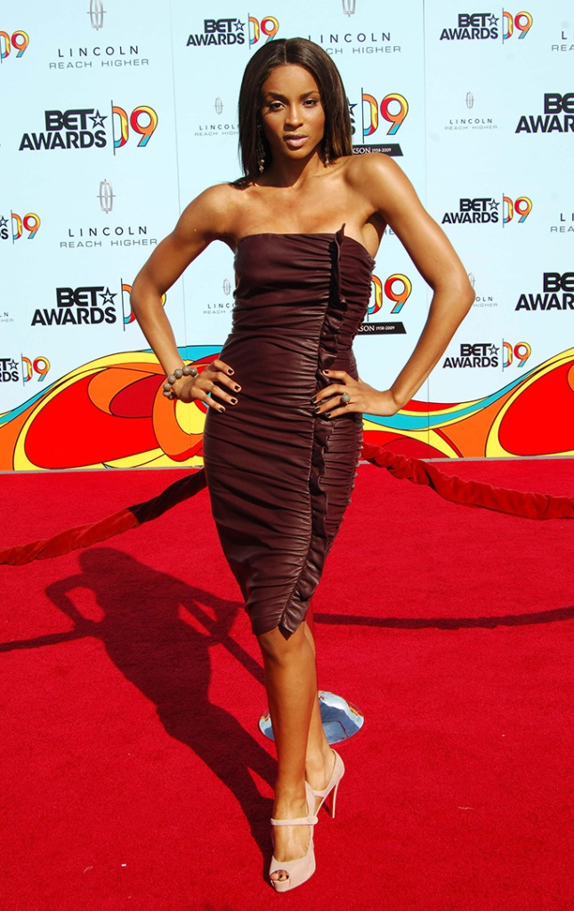 """Ciara9th Annual BET Awards, Arrivals, Los Angeles, America - 28 Jun 2009This year's annual Black Entertainment Television awards were changed at the last minute to become a tribute ceremony to honour the late singer Michael Jackson, who collapsed and died last week (Thurs 25th June).Members of the famous Jackson family led the tributes and there was even an appearance from his infamous father Joseph.A Jackson 5 medley was performed and host Jamie Foxx even tried his hand (or should that be feet?) at doing the Moonwalk before Janet Jackson held back the tears to give thanks to all her brother's friends and fans.Guests attending, some of whom gave their own remembrance speeches, included Kanye West, Alicia Keys, Beyonce Knowles, Estelle and Chaka Khan.The family are currently calling for a second autopsy on Michael's body because of what they called """"unanswered questions"""" concerning the cause of his death."""