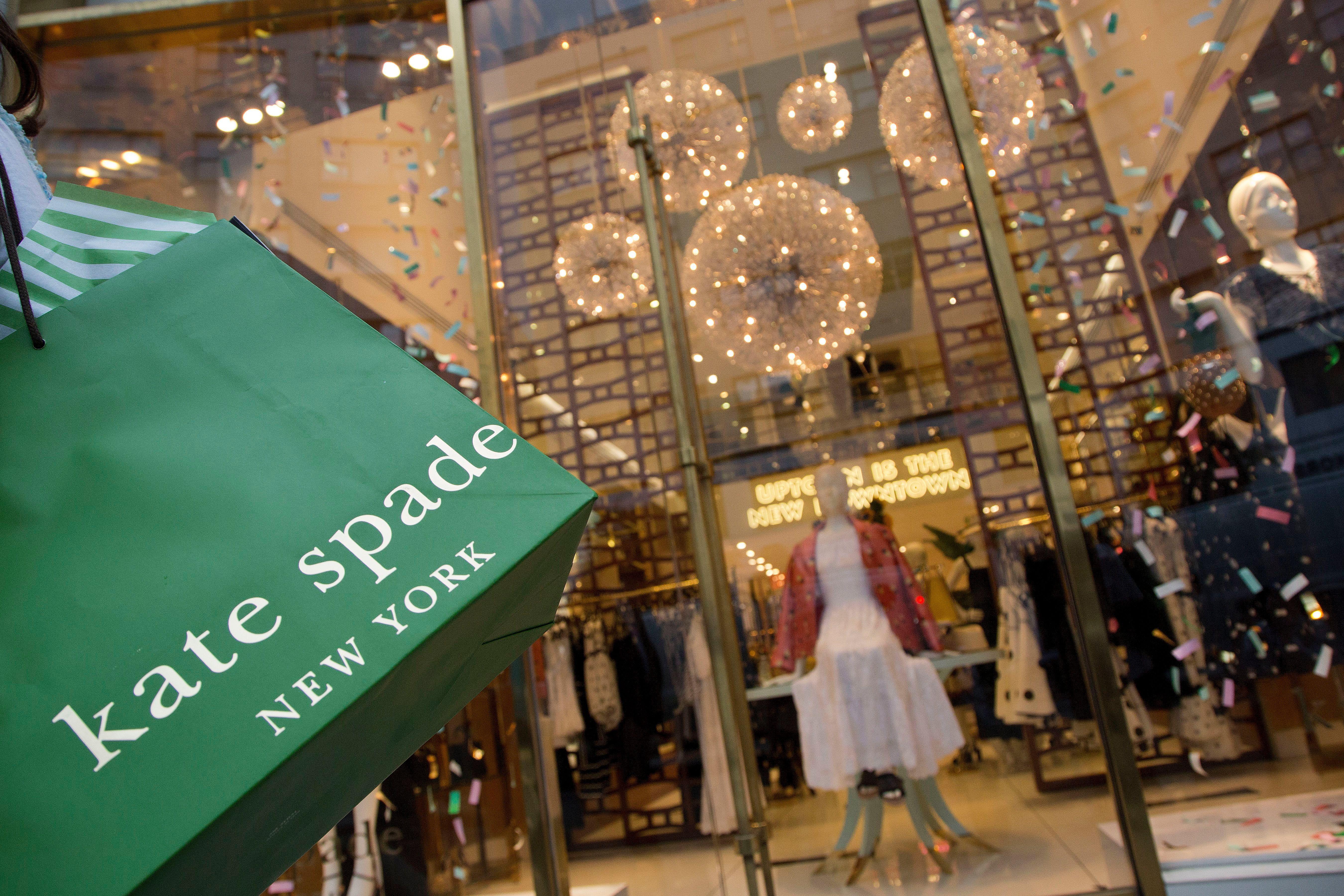 Kate Spade shopping bag