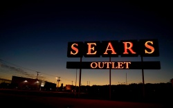 A sign for a Sears appliance