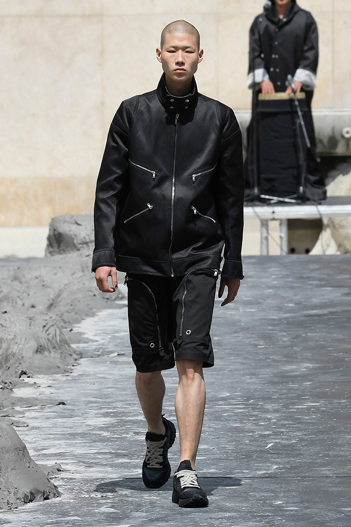 Model on the catwalkRick Owens show, Runway, Spring Summer 2020, Paris Fashion Week Men's, France - 20 Jun 2019