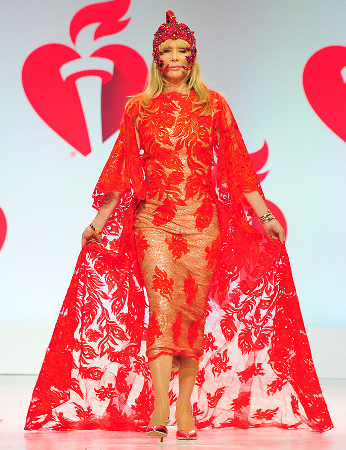 Rosanna Arquette115th Annual Heart Truth Go Red for Women Red Dress Collection 2019 - Runway, New York, USA - 07 Feb 2019