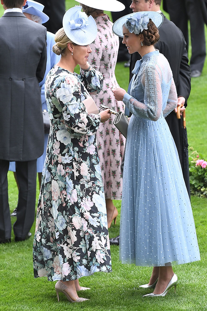 Zara Tindall and Catherine Duchess of CambridgeRoyal Ascot, Day 1, UK - 18 Jun 2019