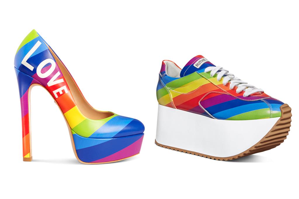 ruthie davis, pride shoes