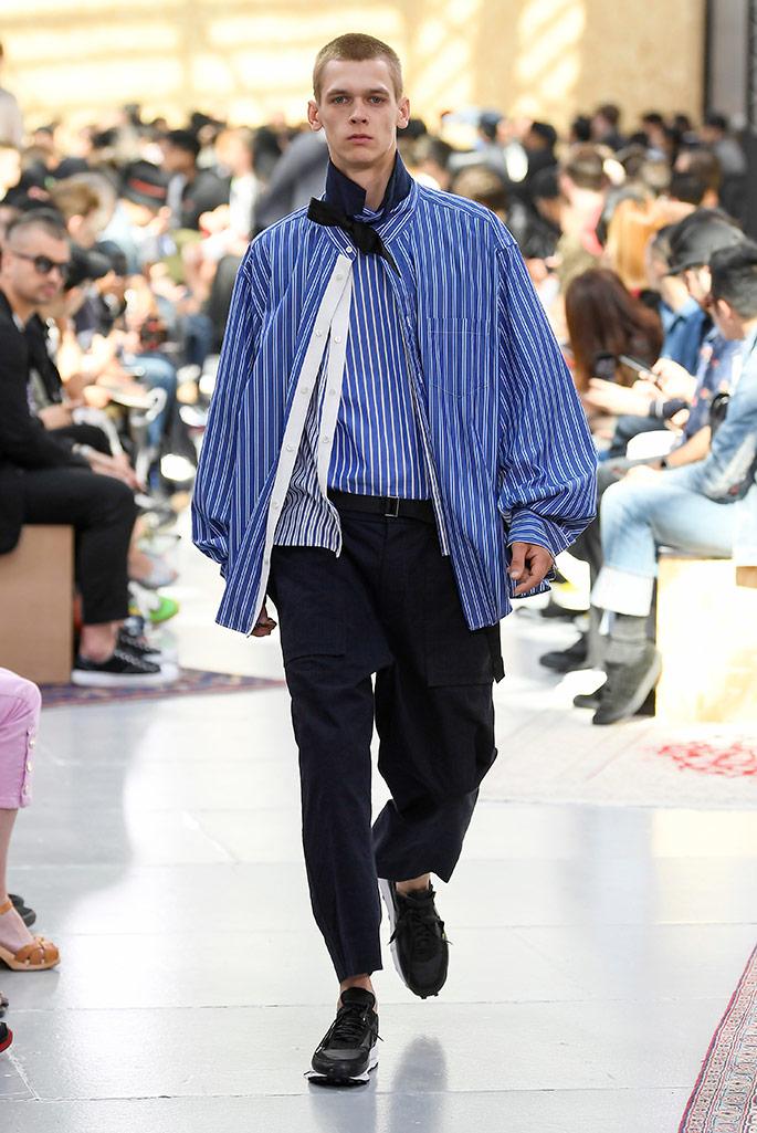 Sacai X Nike spring 2020 Paris Fashion Week Men's.