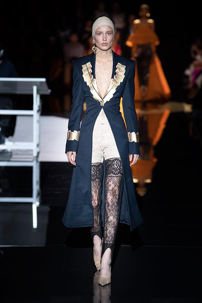 Schiaparelli Haute Couture, fall 2019.