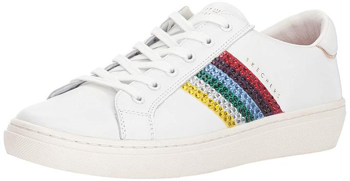 Skechers Women's Goldie-Rainbow Sneaker